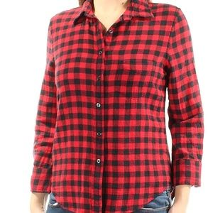 Ralph Lauren Denim & Supply Red Plaid Flannel M